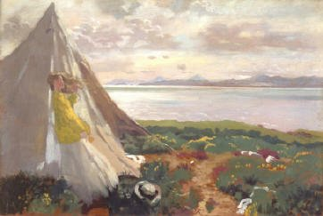 PLATE 2. William Orpen (1878-1931) A Breezy Day, Howth Oil on panel (40 x 61 cm) Courtesy of Dublin City Gallery The Hugh Lane