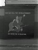 Fig 15 The revolutionary, Rockdale Street, Belfast, 1981
