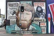 Fig 17 Wanted, International Wall, Divis Street, Belfast, 2012