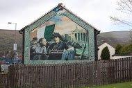 Fig 28 Easter 1916, Whiterock Road, Ballymurphy, Belfast, 2001