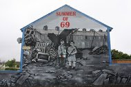 Fig 44 Drummer Boy, Hopewell Avenue, Lower Shankill, Belfast, 2010