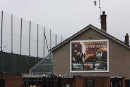 Fig 43 Never Again, Bombay Street, Clonard, West Belfast, 2006