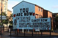 Fig 49 You Are Now Entering, Sandy Row, South Belfast, 2011