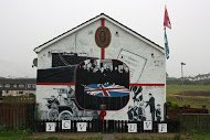 Fig 61 Covenant and UVF, Forthill Drive, Ballyduff, Newtownabbey, 2013