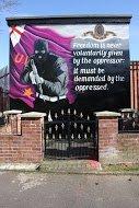 Fig 65 Demanding Freedom, Inverary Court, Sydenham, Belfast, 2013