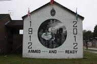 Fig 70 UVF Centenary, Blenheim Drive, West Winds Estate, Newtownards, 2012