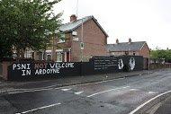 Fig 74 PSNI Not Welcome, Berwick Road, Ardoyne, 2013