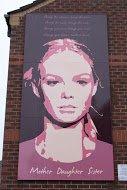 Fig 79 Mother Sister daughter (1), Mervue Street, Tigers Bay, Belfast, 2009