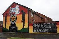 Fig 8 Paramilitary memorial, Hopewell Crescent, Lower Shankill, 2014