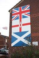 Fig 82 Back to Flags, Mervue Street, Tigers Bay, Belfast, 2014