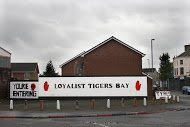 Fig 84 You're Entering Loyalist Tigers Bay, North Queen St, Tigers Bay, Belfast, 2014