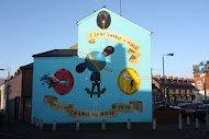 Fig 86 Change the World, Oakman Street, Beechmount, Belfast, 2014