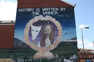 Fig 25 History is written by the winner, Oakman Street, Beechmount, Belfast, 2014