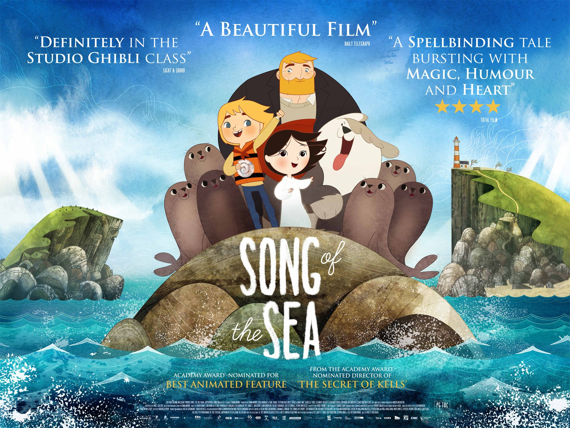 Song of the Sea (Tomm Moore 2014)